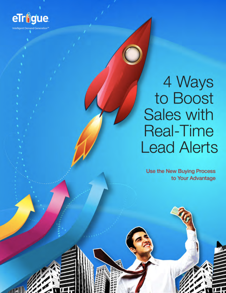 Real-Time Lead Alerts – 4 Ways to Boost Sales